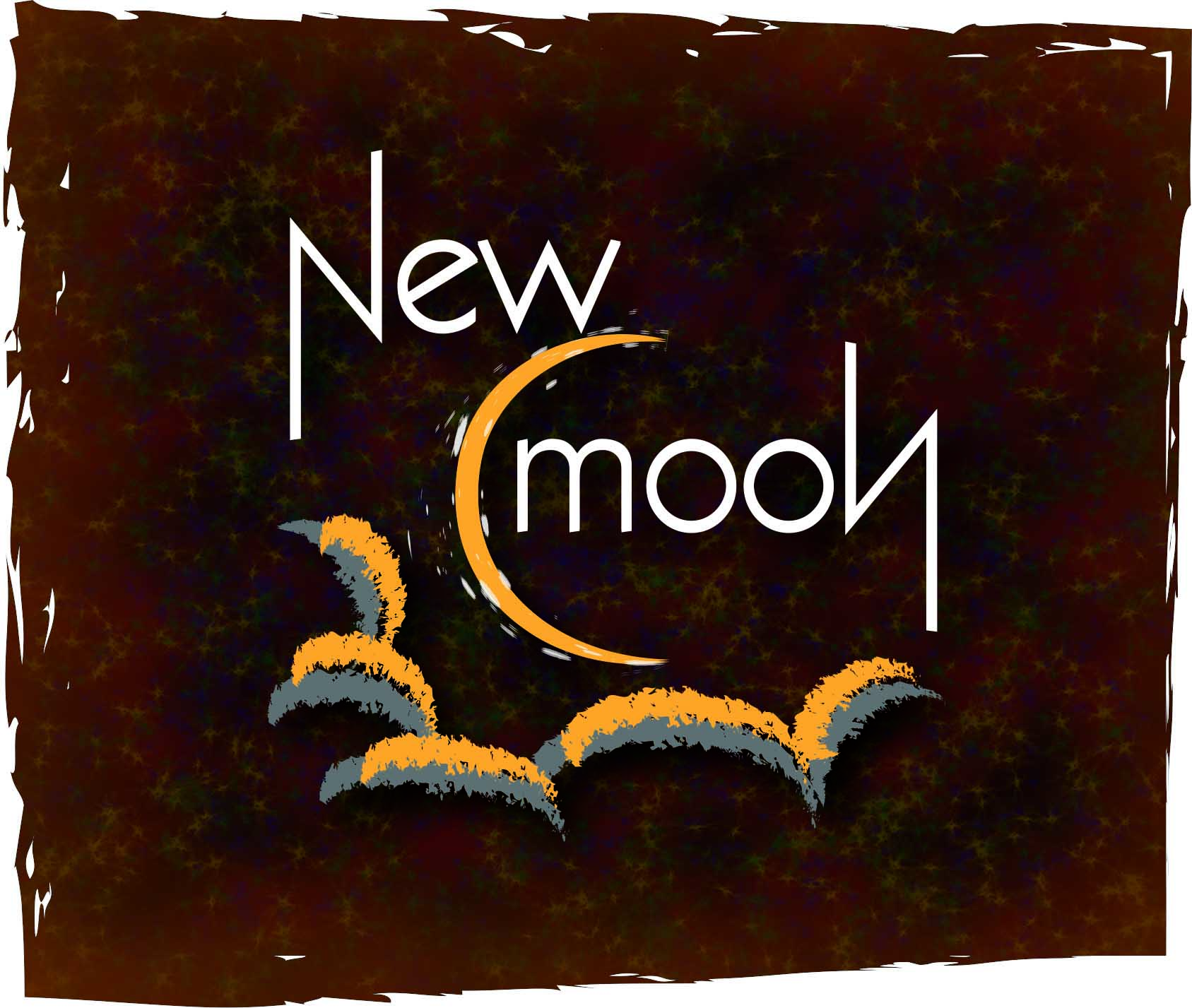 New Moon Graphic